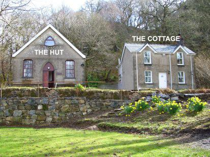 The hut and cottage